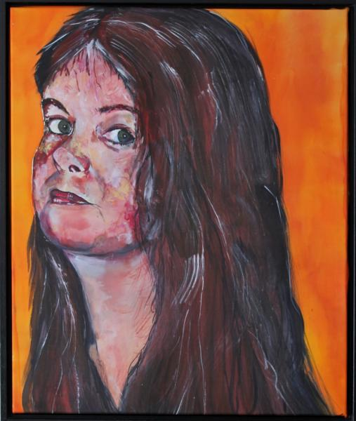zelfportret Tineke